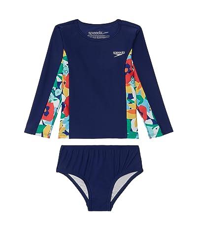 Speedo Kids Long Sleeve Rashguard Set (Infant/Toddler)