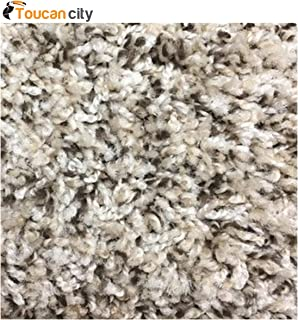 Toucan City Carpet Sample - Hurried - Color Gravitron Twist 8 in. x 8 in EF-327794