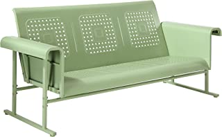 Crosley Furniture CO1028-GR Veranda Sofa Glider, Oasis Green