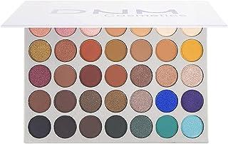 Paleta de sombras maquiagem – Brilho fosco 36 cores – Altamente pigmentado – Nudes profissionais quentes naturais bronze n...
