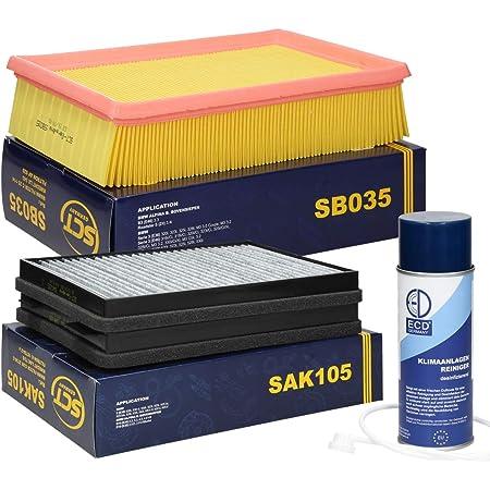 Inspektionspaket Wartungspaket Filterset Filtersatz 1 X Luftfilter 1 X Innenraumfilter Mit Aktivkohle Auto