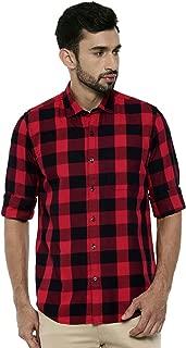 Rehan Men's Checkered Slim fit Casual Shirt