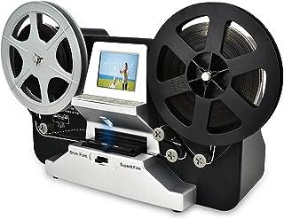 """Mersoco Rotolo di Pellicola da 8 mm e Bobine di Pellicola Super8 (5""""e 3"""") Digital Vido Scanner e digitalizzatore di Film c..."""