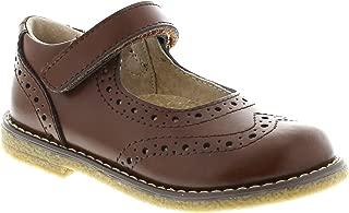 FootMates Girl's Lydia Brogue Mary Jane Cognac - 2704/1 Little Kid M/W