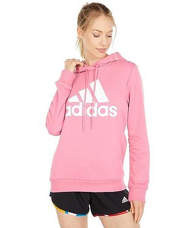 adidas Big Logo Fleece Pullover Hoodie