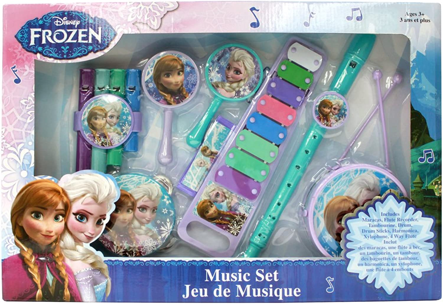 What Kids Want  Frozen Large Music Set by What Kids Want