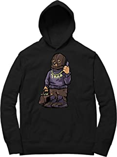 Mauve 700 Kanye Trap Bear Hoodie to Match Yeezy Boost 700 Mauve Sneakers Black t-Shirts