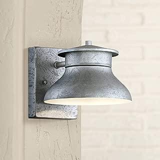 Danbury Modern Outdoor Wall Light Fixture LED Galvanized Steel 5