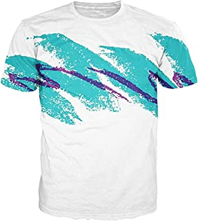 Idgreatim Unisex Casual 3D Print Animal Short Sleeve T-Shirt Graphic Tees