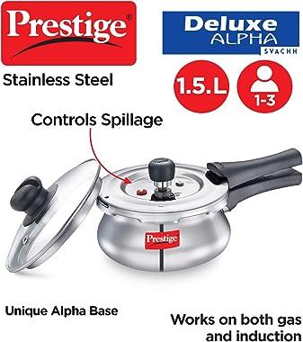 Prestige PRESSURE COOKER, 1.5 Liter, SILVER