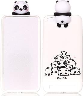 DAMONDY Xiaomi Mi A1 Case, Xiaomi Mi 5X Case, 3D Cartoon Animals Cute Pattern Soft Gel Silicone Slim Design Rubber Thin Protective Cover Phone Case for Xiaomi Mi A1/Mi 5X (2017)-Many Panda