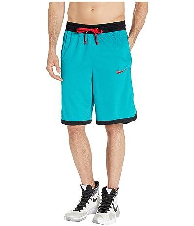 Nike Dry Elite Shorts Stripe (Spirit Teal/Black/Black/University Red) Men