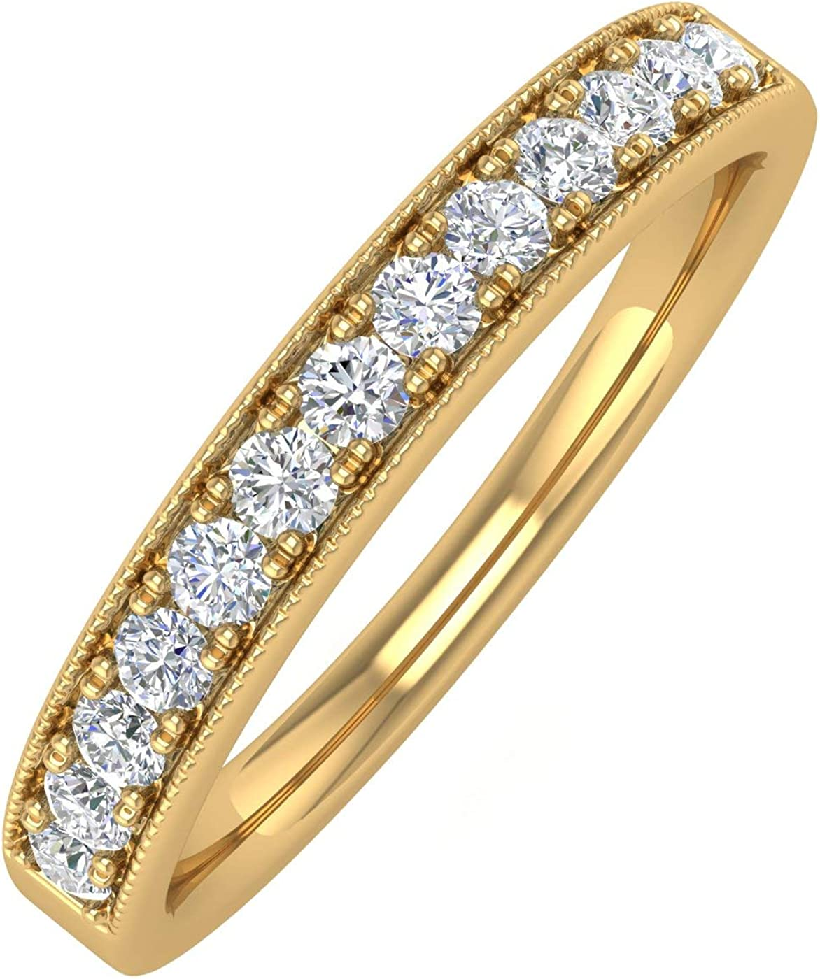 1 4 Carat Prong Set Diamond At the price of surprise New popularity in Wedding Ladies Band Anniversary