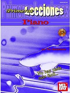 Primeras Lecciones Piano (Book and CD) (Spanish Edition)