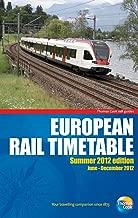 European Rail Timetable Summer 2012 (European Rail Timetable: Thomas Cook Rail Guides)
