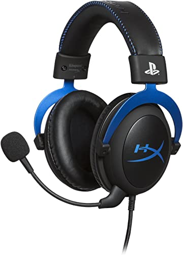 HyperX Cloud - Official Playstation Licensed Gaming Headset for PS4 and PS5 with in-Line Audio Control, Detachable No...