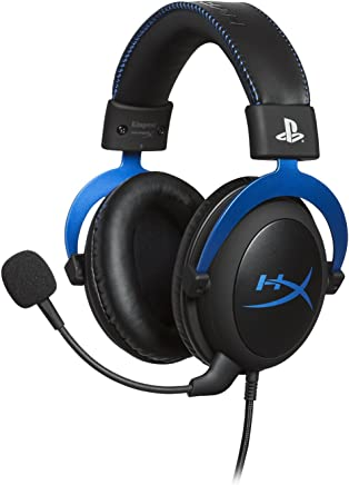 $69 Get HyperX Cloud - Official Playstation Licensed Gaming Headset for PS4 with in-Line Audio Control, Detachable Noise Cancelling Microphone, Comfortable Memory Foam - Black