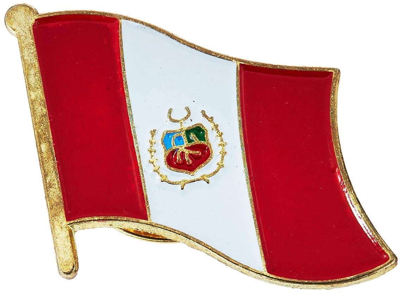 EagleEmblems P09586 PIN-Peru (Flag) (1'')