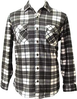 Men's Sherpa Fleece Flannel Lined Jacket Shirt