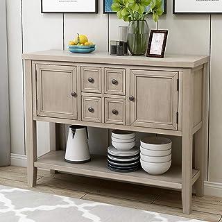 Amazon Com Grey Sofa Console Tables Tables Home Kitchen