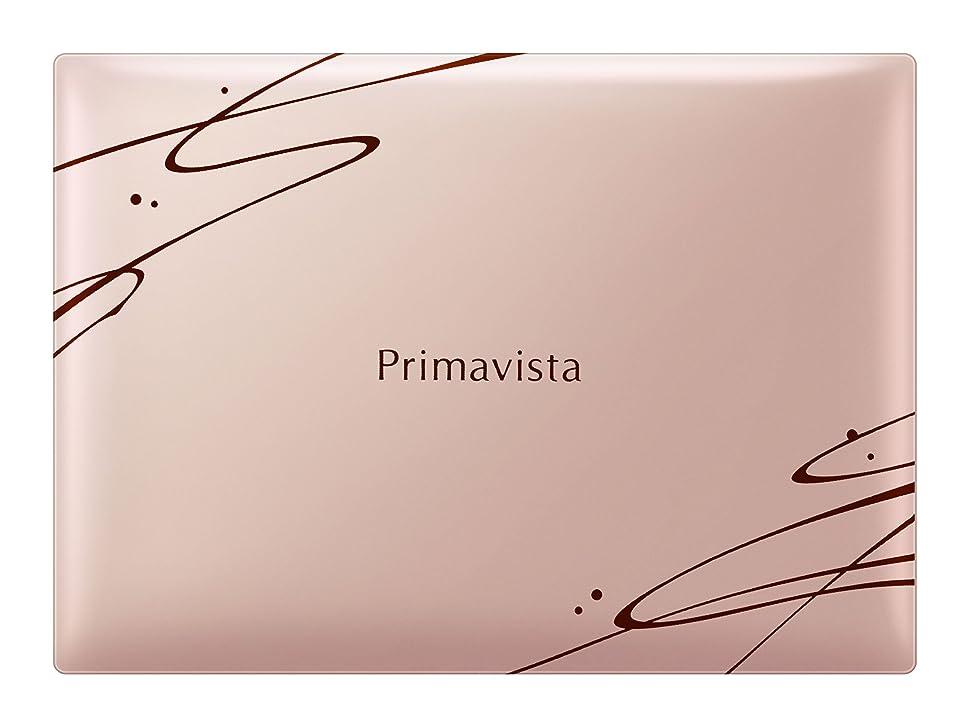 無人空権限ソフィーナ プリマヴィスタ きれいな素肌質感パウダーファンデーション(オークル03)+限定デザインコンパクト