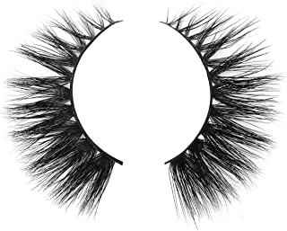 BEPHOLAN Mink Lashes|100% Siberian Real Mink Fur| Dramatic Flare Look| Totally Cruelty-Free| 100% Handmade& Reuseable| 3D Layered Effect| Easy to Apply| XMZ02
