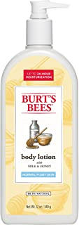Burt's Bees Milk and Honey Body Lotion - 12 Ounce Bottle