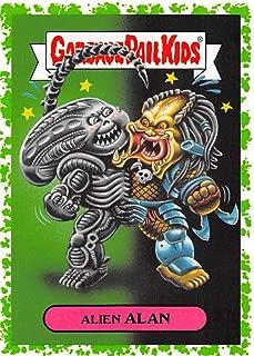 2018 Topps Garbage Pail Kids Oh The Horror-ible Modern Sci-Fi Sticker A Puke NonSport #1A ALIEN ALAN x