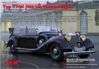 ICM Models Typ 770K W150 Tourenwagen WWII German Leaders Car Building Kit