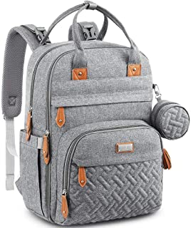 Baby Changing Bag Backpack, BabbleRoo Nappy Changing Back