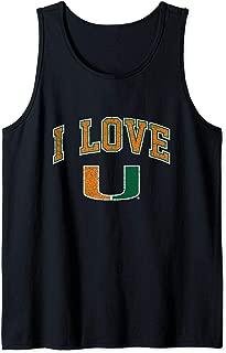 University of Miami Hurricanes Canes NCAA UOFM1013 Tank Top