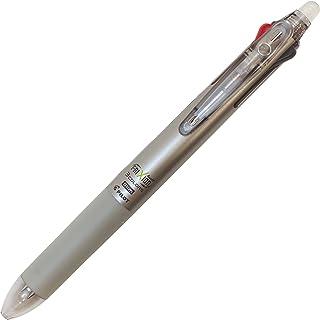 3色ボールペン フリクションボール3スリム 0.5mm【ダークシルバー】 LKFBS60EF-DS