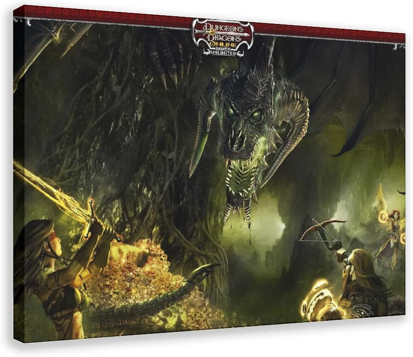 Art excellence Images Dungeons And Dragons Decor Spor Seattle Mall Poster Canvas Bedroom