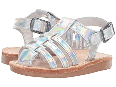 Freshly Picked Bixby Sandal (Infant/Toddler/Little Kid) (Holographic) Kids Shoes