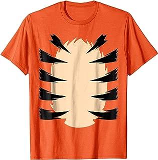Orange Tiger Costume for Kids DIY Halloween Costume TShirt