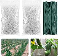 Apipi 2 Pack 5 x 15ft Plant Trellis Netting- Heavy-Duty Polyester Trellis Net Plant Support Vine Climbing Flexible String Garden Twine for Vegetables Fruits Flowers Hydroponics Plant