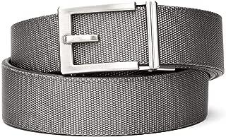 "KORE Men's Nylon Web Track Belts | ""Express"" Nickel Buckle"