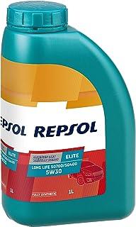 REPSOL ( レプソル ) エンジンオイル 【Long Life ロングライフ】 5W30 SJ/CF 100%化学合成 1L 007039 [HTRC3]