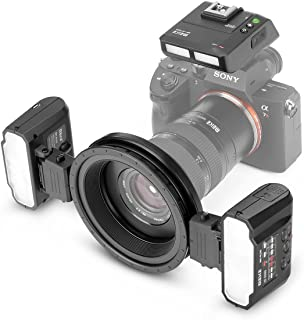 Meike MK-MT24S 2.4G Wireless Macro Twin Lite Flash for Sony A9 A7III A7IIK A7RIII A6400 A6300 A6000 A6500 and Other MI Hot Shoe Mount Mirrorless Cameras