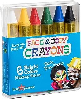 Best black face paint crayon Reviews