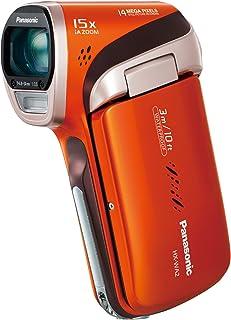 パナソニック デジタルムービーカメラ WA2 防水仕様 サンシャインオレンジ HX-WA2-D