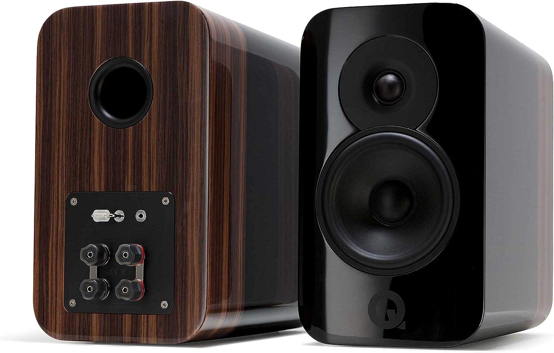 Q Acoustics Ranking TOP13 Concept 300 Black Pair Austin Mall Bookshelf Speaker