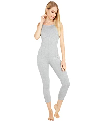 FP Movement Side to Side Performance Jumpsuit (Heather Grey) Women