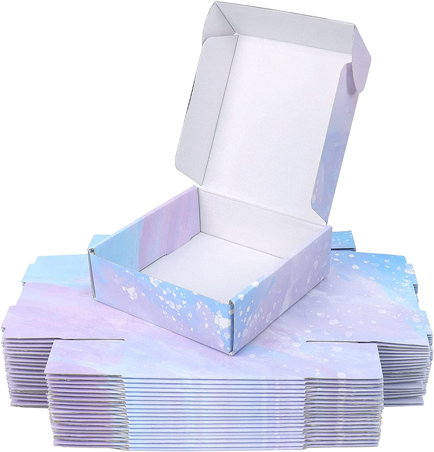 20 Pack Small Mailer Special price for a limited time Boxes Packaging Corrugate 6x6x2 Inches New popularity