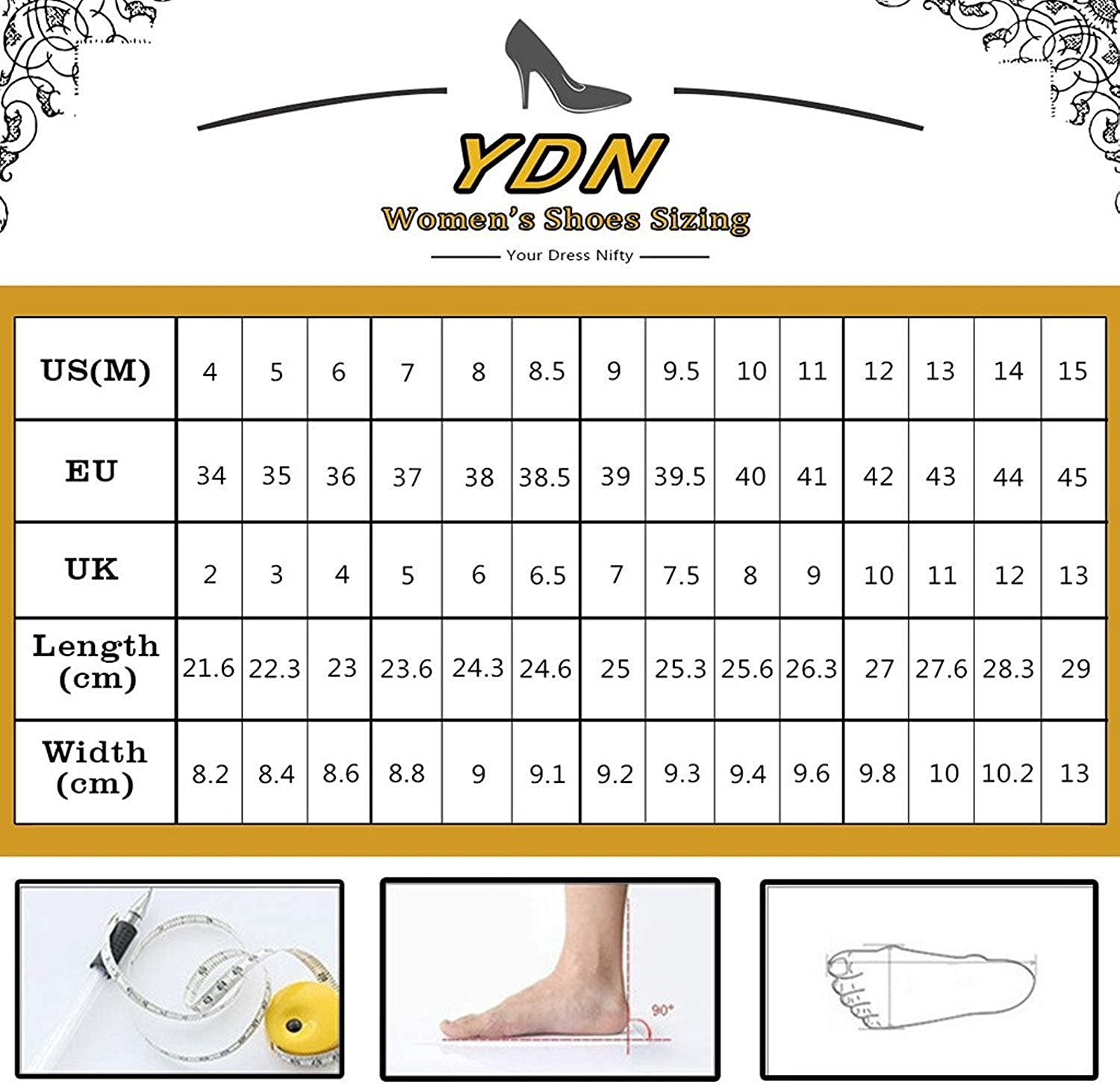 YDN Women Comfort Closed Almond Toe Knee High Boots Chunky Block Low Heel Lace up Pumps Winter Date Shoes