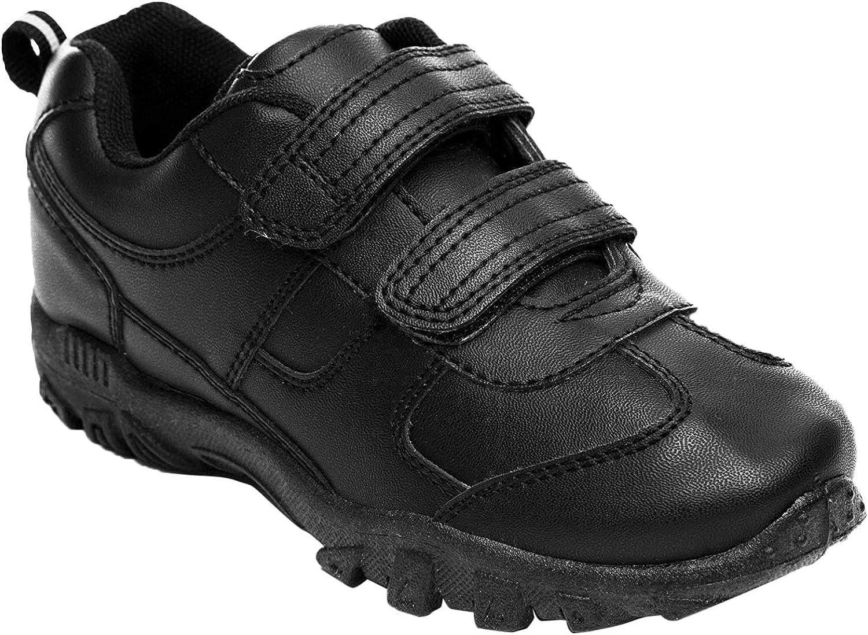 black school leather shoes