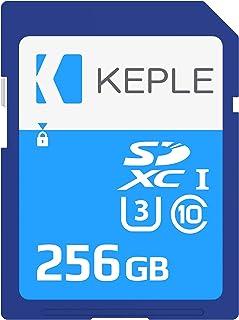 256GB SD Card Class 10 Tarjeta de Memoria Compatible con Sony Alpha 7s a5300 a6300 a6400 a6500 a7 II / a7 III a7R II / a7R III a7S / a7S II a9 NEX-7 / NEX-C3 Camera | U3 SDXC 256 GB
