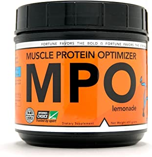 DIOXYME MPO - All Natural Anabolic Muscle Optimizer and Performance Enhancer - Instantly Increases Strength, Power and Endurance - Creatine Mono, Beta Alanine, HMB, HICA, PA (Lemonade)