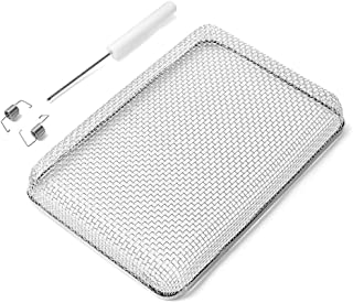 SnowyFox Flying Insect Screen - RV Water Heater Screen Stainless Steel Mesh Cover - Installation Tool Included, Fit Atwood 6/10 Gallon, Suburban 6 Gallon Water Heater Vents, Size: 6 x 8.5 x 1.3inch