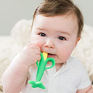 Nuby Silicone Corn Teether